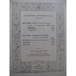 FAURÉ Gabriel Pièce Violoncelle Piano 1920