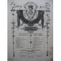 YRADIER Sebastian La Rosilla Chant Piano ca1865