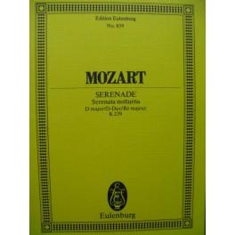 MOZART W. A. Sérénade No 6 Orchestre