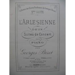 BIZET Georges L'Arlesienne 2e Suite Piano 4 mains ca1880