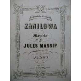 MASSIP Jules Zanilowa Piano XIXe siècle