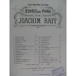 RAFF Joachim Menuet de la Reine Piano XIXe siècle