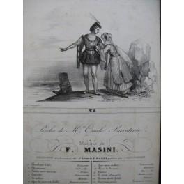 MASINI F. Le Calme Chant Guitare ca1830