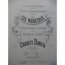 DANCLA Charles Marche Violon Piano 1886