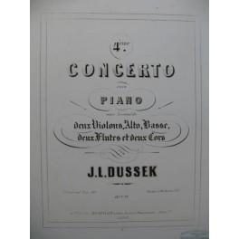 DUSSEK J. L. Concerto No 4 Piano ca1840