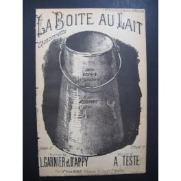 BRUNIN La Boite au Lait Chansonnette