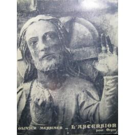 MESSIAEN Olivier L'Ascension Orgue 1973