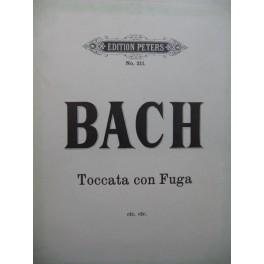 BACH J. S. Toccata Preludio Fantasia con Fuga Piano