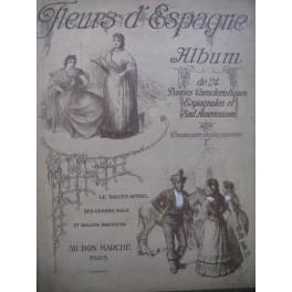 Fleurs d'Espagne Album 24 Danses Piano ca1910