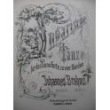 BRAHMS Johannes Ungarische Tänze 1 Piano 4 mains XIXe