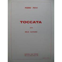 PETIT Pierre Toccata pour deux Guitares