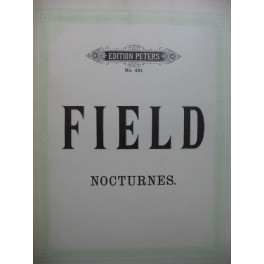 FIELD John Nocturnes 17 Pièces pour Piano
