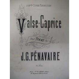 PÉNAVAIRE Jean Grégoire Valse Caprice