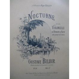 BILOIR Gustave Nocturne op 34 Violon Piano