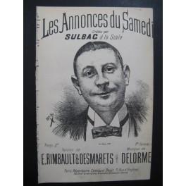 SULBAC Les Annonces du Samedi Chanson