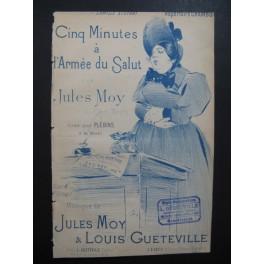 MOY Jules Cinq Minutes à l'Armée du Salut Chanson