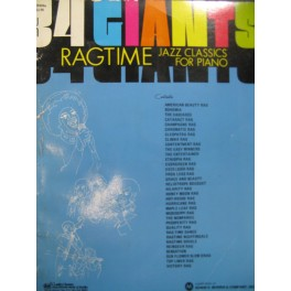 34 Giants Ragtime Jazz Classics for Piano