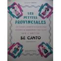 ANTIGA J. Se Canto Piano 1949