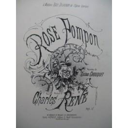 RENÉ Charles Rose Pompon Chant Piano XIXe