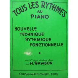 RAWSON H. Tous les Rythmes au Piano