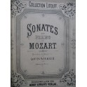 MOZART W. A. Sonates Piano XIXe