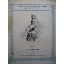 PROCH H. Calavresella Chant Piano ca1840