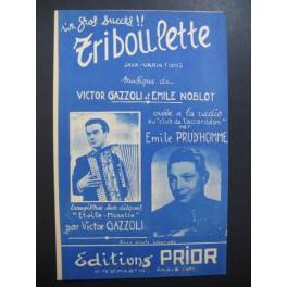 Triboulette Java Gazzoli Prud'homme Accordéon