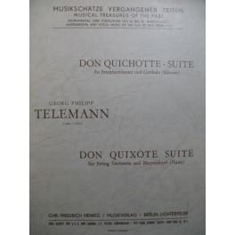 TELEMANN G. P. Don Quichotte Suite Orchestre 1963