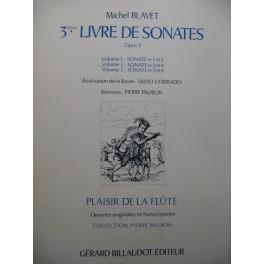 BLAVET Michel 3e Livre de Sonates Vol 2 Flute Piano ou Clavecin