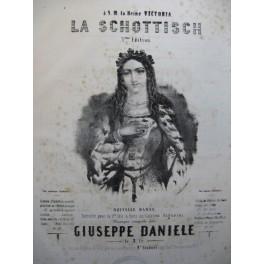 GIUSEPPE Daniele La Schottisch Piano ca1850