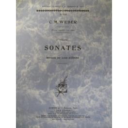 WEBER Carl Maria von Sonates Vol 1 piano
