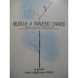 LEVALLOIS Andrée Musique à travers Chants 1968