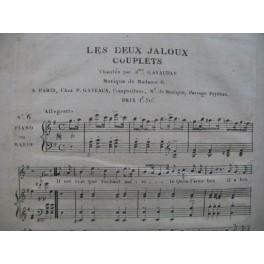 GAIL Sophie Les Deux Jaloux No 6 Signature Chant Piano ou Harpe ca1815