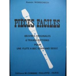 WORSCHECH Romain Pièces Faciles Flûte à bec 1972