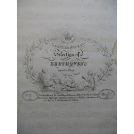 Ludwig Van BEETHOVEN See The Conquering Hero Comes Piano ca1810
