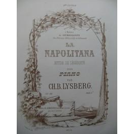 LYSBERG Ch. B. La Napolitana Piano ca1860