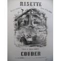 COUDER Risette Chant Piano ca1860