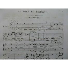 DONIZETTI G. La Fille du Régiment Opéra Piano solo XIXe