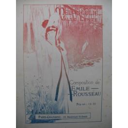 ROUSSEAU Emile Mélancolie Valse lente Piano