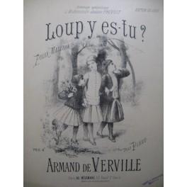 DE VERVILLE Armand Loup y es tu Piano