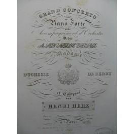 HERZ Henri Concerto Piano ca1825