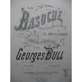 BULL Georges La Basoche Piano 1890