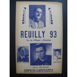 Reuilly 93 Fox Henri Nivelon Accordéon