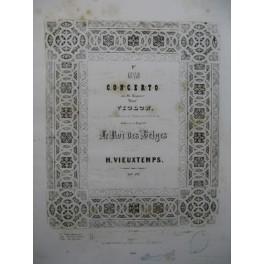 VIEUXTEMPS Henri Grand Concerto No 1 Violon Piano ca1850