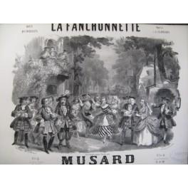MUSARD Philippe La Fanchonnette piano 1855
