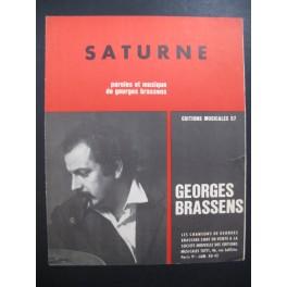 Saturne Georges Brassens Chant Piano 1964