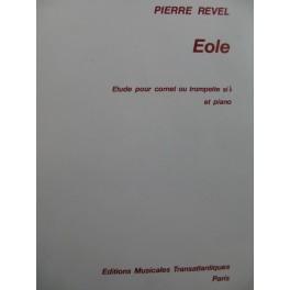 REVEL Pierre Eole Etude Piano Cornet ou Trompette 1977