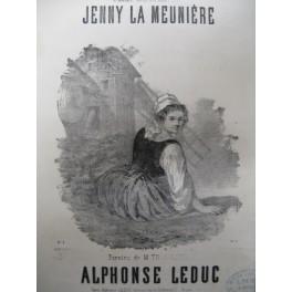 LEDUC Alphonse Jenny La Meunière chant piano 1864