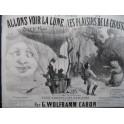 WOLFRAMM CARON G. Allons Voir la Lune No 1 Piano XIXe siècle