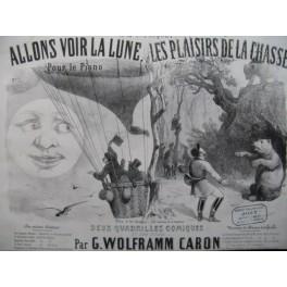 WOLFRAMM CARON G. Les Plaisirs de la Chasse No 2 Piano XIXe siècle